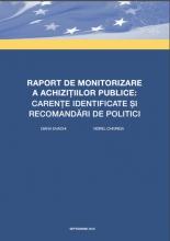 Raport de monitorizare a achizițiilor publice: carențe identificate și recomandări de politici | IDIS Viitorul
