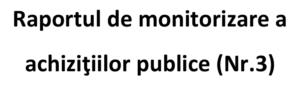 Raport de monitorizare a achizițiilor publice mai – septembrie 2016 | AGER