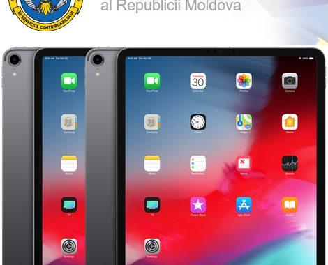 Serviciul Fiscal de Stat își cumpără patru Apple iPad Pro 12.9, modelul anului 2018