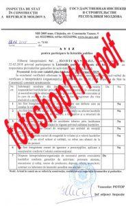Cu acte false depuse în ofertă, DGLCA i-a atribuit contractul de peste un milion trei sute mii lei