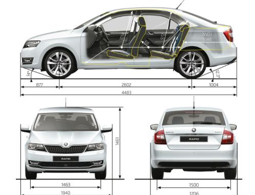 Noul (fostul) șef al direcției educație Buiucani a procurat automobilul mult râvnit, Skoda Rapid