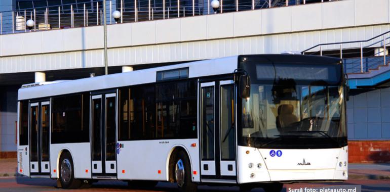 Cine ar putea livra cele 100 de autobuze pentru Chișinău