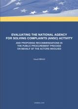 Evaluarea activității Agenției Naționale de Soluționare a Contestațiilor (ANSC) | IDIS Viitorul