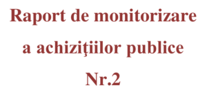 Raport de monitorizare a achizițiilor publice ianuarie – iunie 2018 | AGER