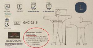 """CAPCS achiziționează  (din nou) costume de protecție de la """"Artbutic"""" SRL?"""