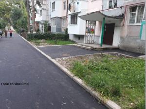Riscuri de fraudă și corupție la repararea curentă a curților de blocuri și trotuarelor din mun. Chișinău